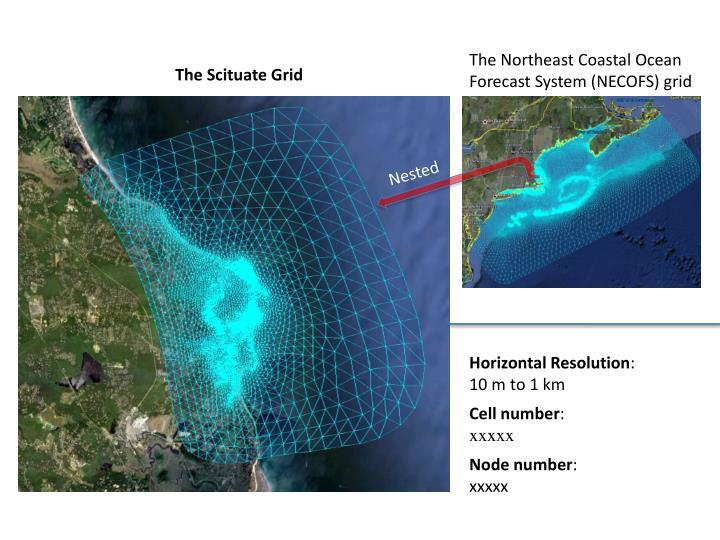 The Northeast Coastal Ocean Forecast System (NECOFS) grid