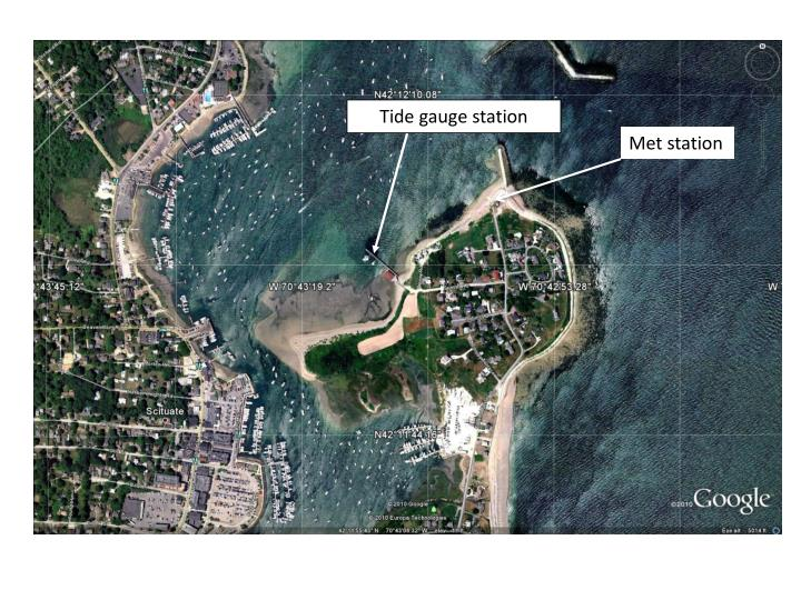 Tide gauge station