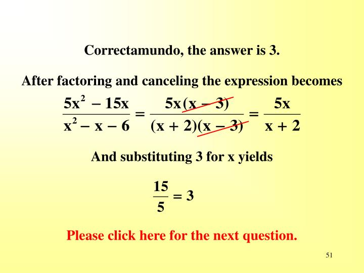 Correctamundo, the answer is 3.