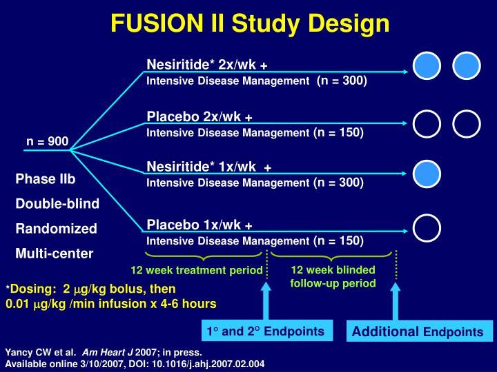 FUSION II Study Design