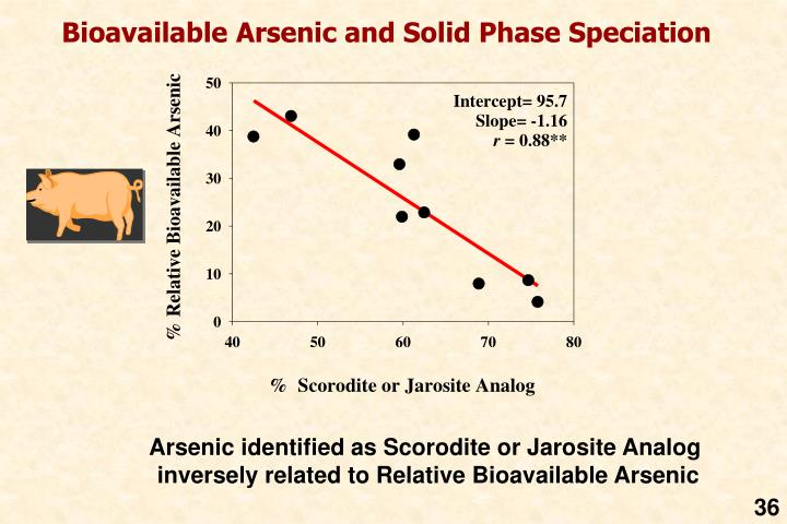 Bioavailable Arsenic and Solid Phase Speciation