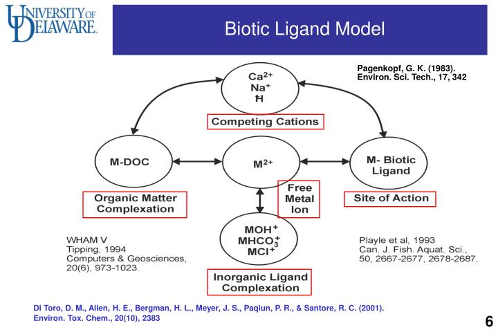 Biotic Ligand Model