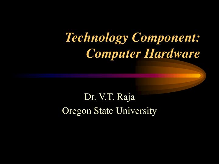 technology component computer hardware