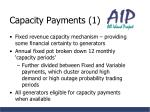 capacity payments 1
