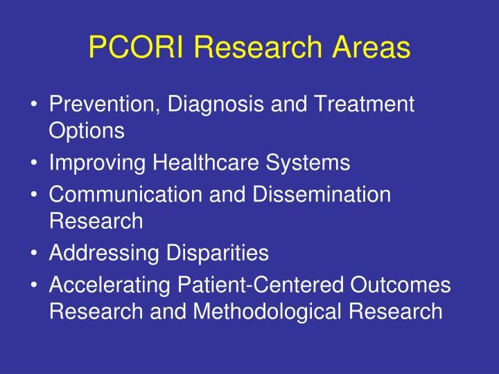 PCORI Research Areas