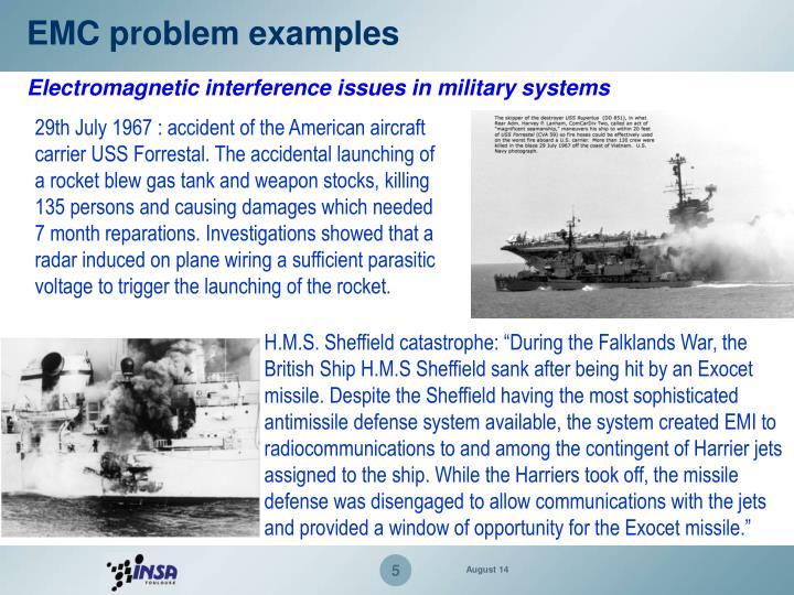 EMC problem examples