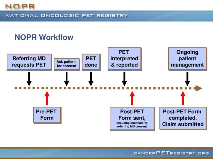NOPR Workflow