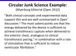 circular junk science example myerburg editorial zipes 2012