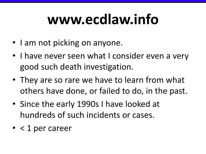 www.ecdlaw.info