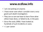 www ecdlaw info