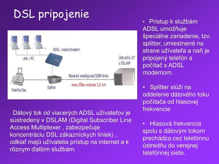 DSL pripojenie