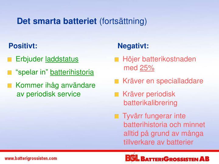 Det smarta batteriet