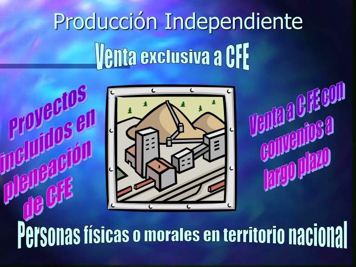 Producción Independiente