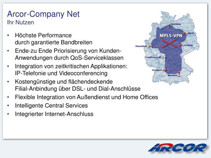 Arcor-Company Net