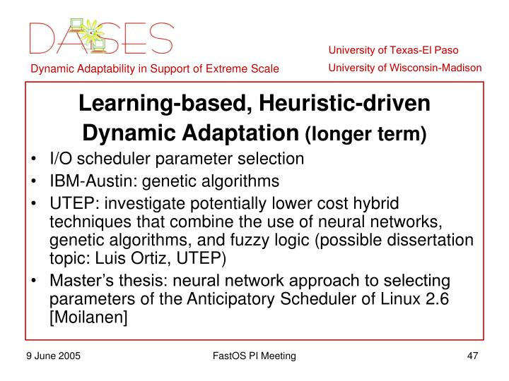 Learning-based, Heuristic-driven