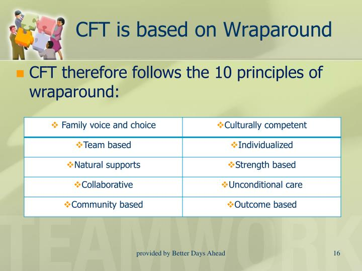CFT is based on Wraparound