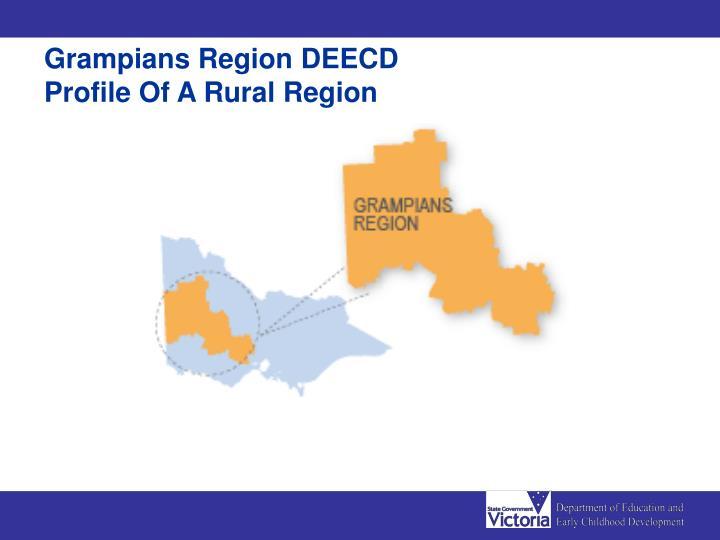 Grampians Region DEECD