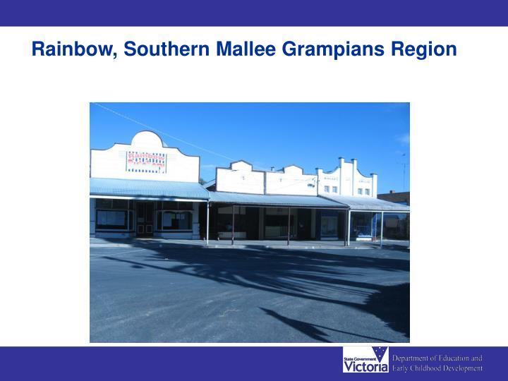 Rainbow, Southern Mallee Grampians Region