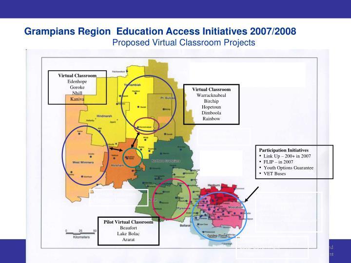 Grampians Region  Education Access Initiatives 2007/2008