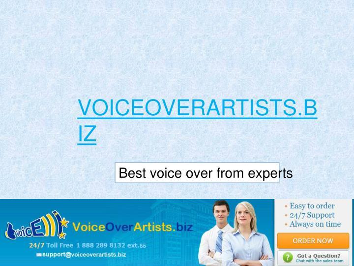 voiceoverartists.biz