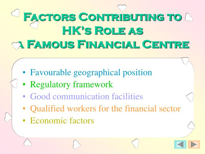 Factors Contributing to