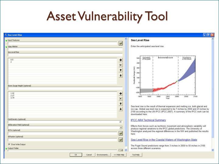 Asset Vulnerability Tool