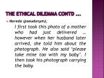 the ethical dilemma contd1