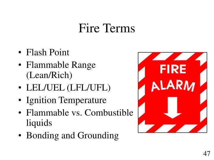 Fire Terms
