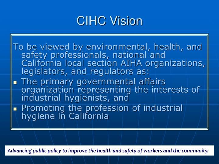 CIHC Vision