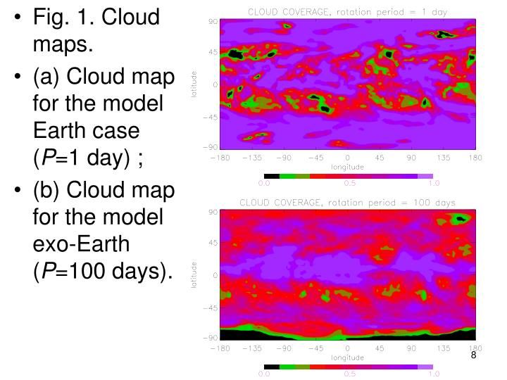 Fig. 1. Cloud maps.