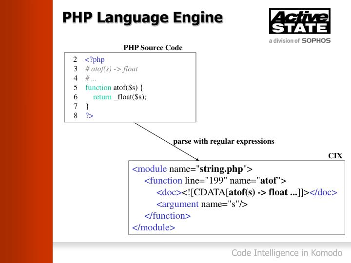 PHP Language Engine