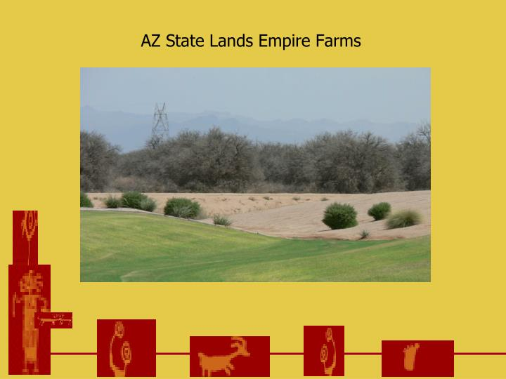 AZ State Lands Empire Farms