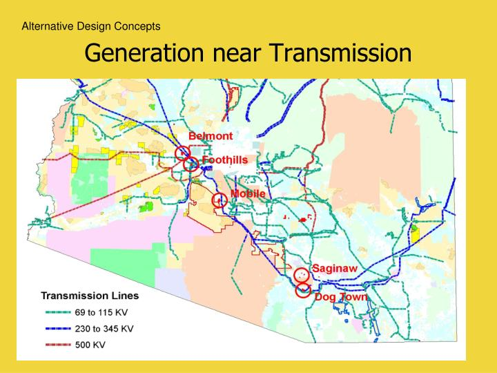 Generation near Transmission