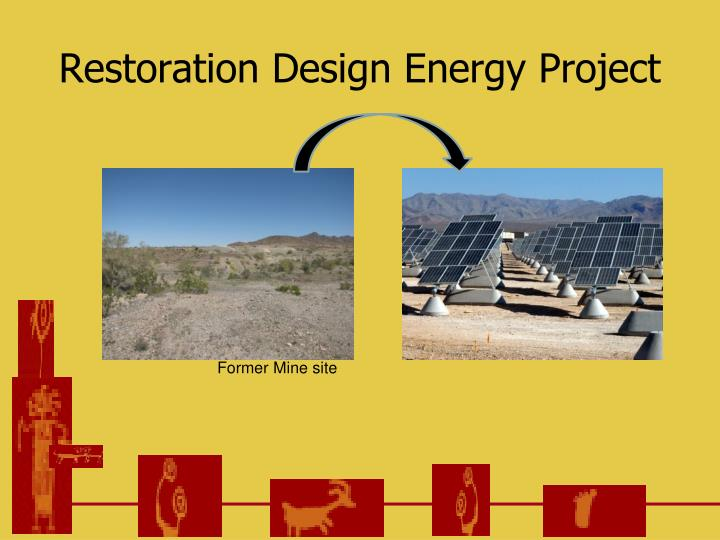 Restoration design energy project