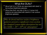 what are dlas