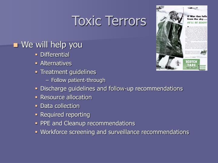 Toxic Terrors