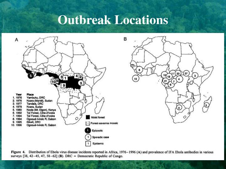 Outbreak Locations