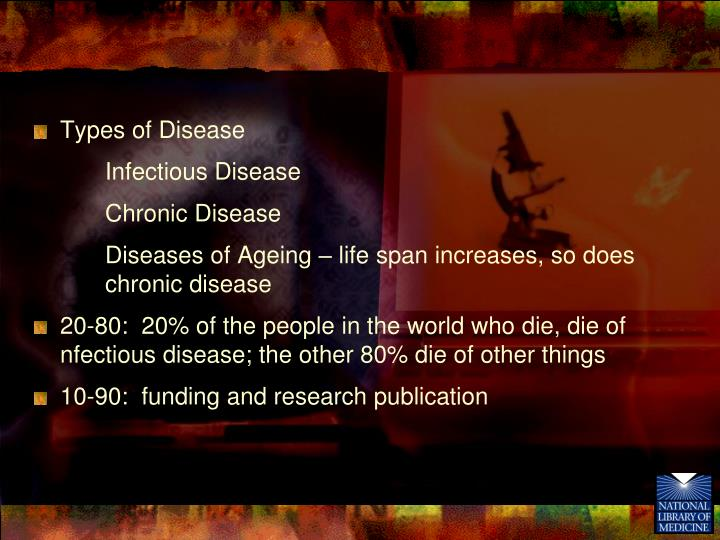 Types of Disease