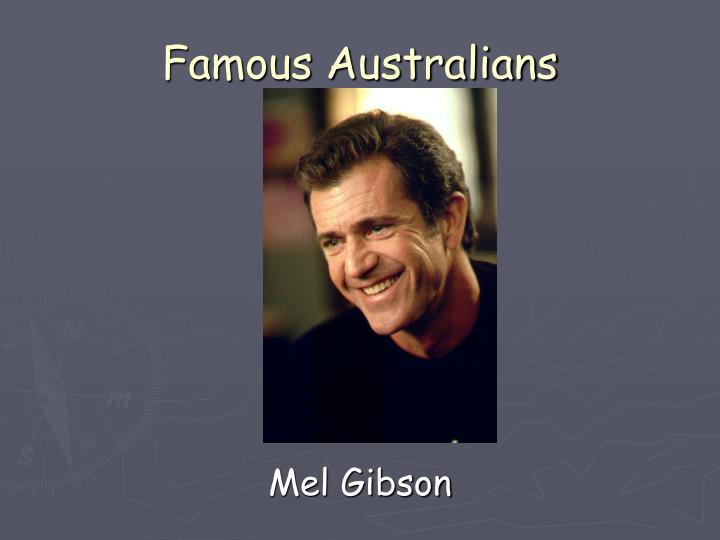 Famous Australians