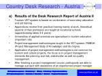 country desk research austria1