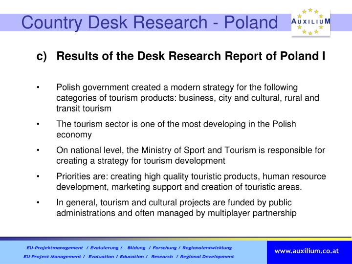 Country Desk Research - Poland