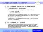 european desk research1