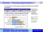 results training organizations3
