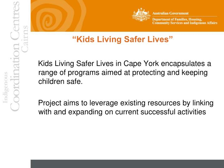 Kids living safer lives1