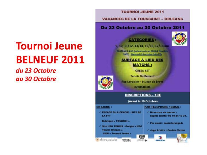 Tournoi Jeune
