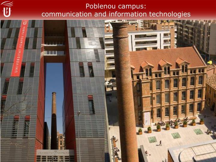 Poblenou campus: