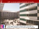 upf a young public university of quality