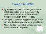 poverty in britain1