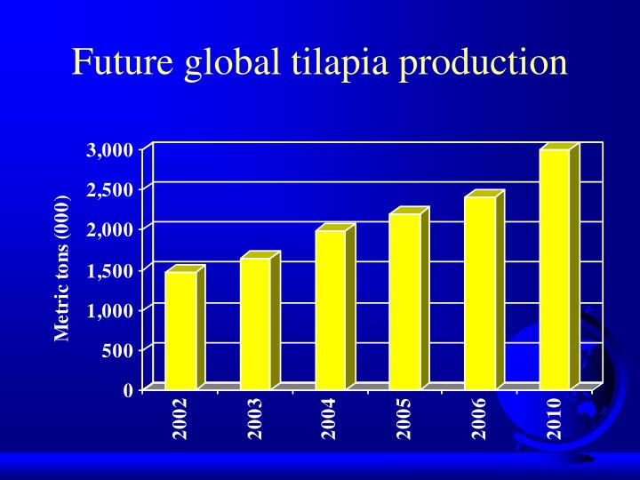Future global tilapia production