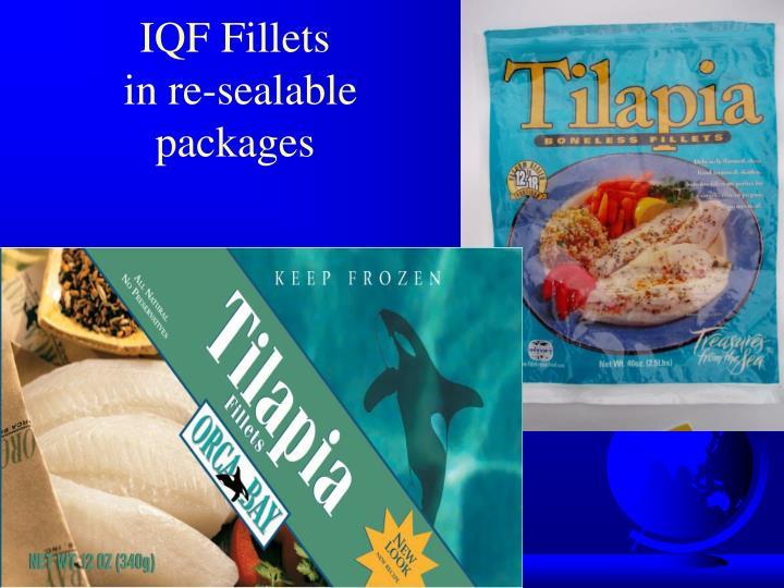 IQF Fillets